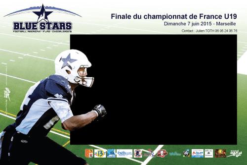 05 juin 2015 | Location Robot Photo pour la Finale du Championnat de France de Football Américain U19
